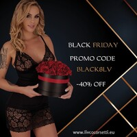 .  Discount code BLACK8LV -40% for the whole assortment In addition to sale products 🔥🔥🔥 BLACK8LV 🔥🔥🔥 CODE valid until 05/12/2020 👇🏼👇🏼👇🏼👇🏼👇🏼 https://livcocorsetti.eu/  Kod rabatowy BLACK8LV -40% na cały asortyment Oprócz produktów wyprzedażowych 🔥🔥🔥 BLACK8LV 🔥🔥🔥 KOD ważny do 05.12.2020 👇🏼👇🏼👇🏼👇🏼👇🏼 https://livcocorsetti.eu/